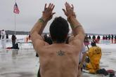 Polar Bear Swim - Special Event in San Francisco.