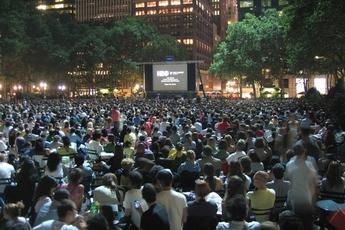 HBO Bryant Park Summer Film Festival - Film Festival in New York.