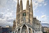 La Sagrada Familia - Landmark in Barcelona.