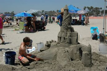 81st Annual Great Sand Sculpture Contest - Outdoor Event in Los Angeles.