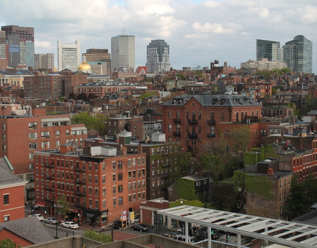 Beacon Hill, Boston.