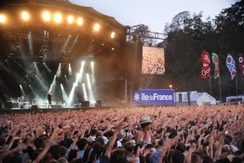 Rock en Seine - Music Festival in Paris.