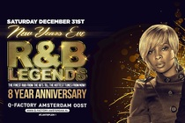 Club Classic R&B Legends New Year's Eve 2017 - Party | DJ Event in Amsterdam.