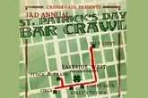 Crossroads St. Patrick's Day Bar Crawl - Pub Crawl | Party | Holiday Event in San Francisco.