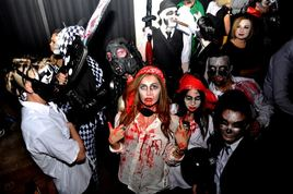 Halloween 2014 in Amsterdam