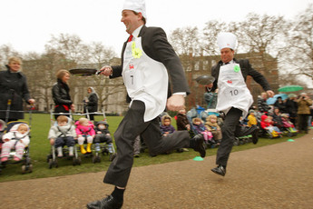 Rehab UK Parlimentary Pancake Race - Food & Drink Event | Running in London.