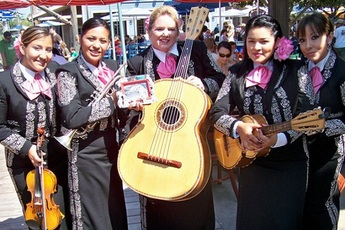 Olvera Street Cinco de Mayo - Holiday Event | Cultural Festival | Food & Drink Event in Los Angeles.