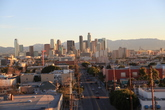 Downtown, Los Angeles.