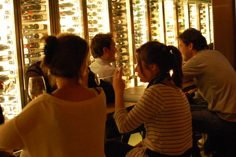 Vyne - Wine Bar in Amsterdam.
