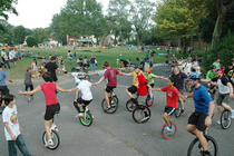 NYC Unicycle Festival 2014 - Festival | Sports | Cycling in New York