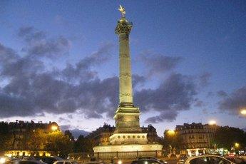 Bastille District of Paris