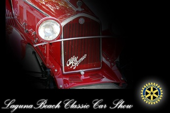 Laguna Beach Classic Car Show - Expo | Benefit / Charity Event in Los Angeles.