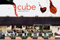 Cube - Italian Restaurant | Caf | Market in Los Angeles.
