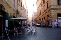 Piazza degli Aurunci - Nightlife Area | Square in Rome.