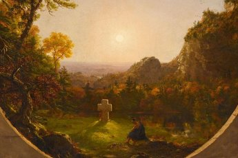 Thomas Cole and the Birth of Landscape Painting in America - Art Exhibit in Paris.