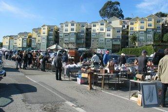 Alemany Flea Market - Shopping Area | Outdoor Activity in San Francisco.