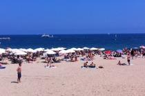 Nova Icària - Beach in Barcelona.