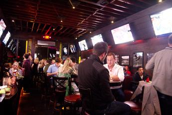 Goal sports bar in Los Angeles.
