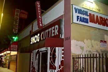 Smog Cutter - Dive Bar | Karaoke Bar in Los Angeles.