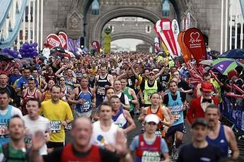 London Marathon - Running in London.