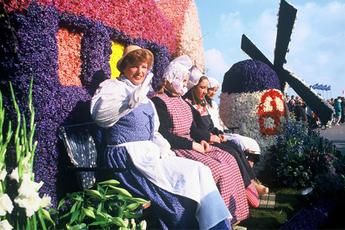 Bloemencorso Flower Parade - Parade   Outdoor Event in Amsterdam.