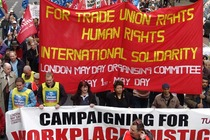 May Day 2017 in London