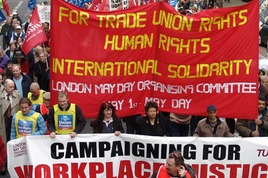 May Day 2014 in London