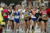 Boston Marathon - Running in Boston.