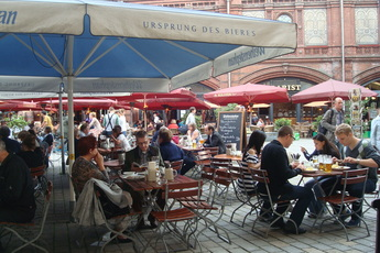 Weihenstephaner - Beer Garden | Beer Hall | Historic Restaurant in Berlin.
