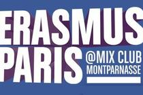 Erasmus Paris at Mix Club - Club Night in Paris.