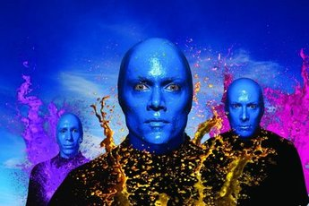 Blue Man Group - Show in Berlin.