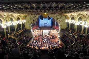 Palau de la Musica Catalana  - Concert Venue in Barcelona.