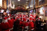 Boston Santa PubCrawl - Food & Drink Event | Holiday Event in Boston.