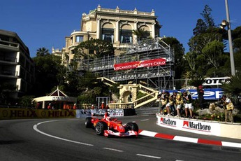 Monaco Grand Prix - Auto Racing in French Riviera.