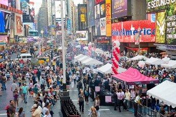 Taste of Times Square - Food Festival | Music Festival in New York.