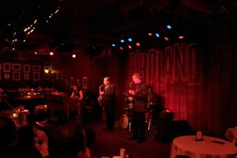 The Birdland Jazz Party - Concert in New York.