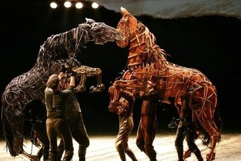 War Horse - Play in London.