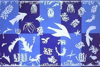 Matisse: The Cut-Out Sky - Art Exhibit in French Riviera.