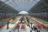 St Pancras Station - Landmark | Plaza | Shopping Area in London.
