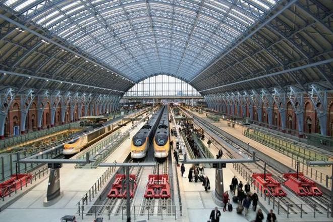 Photo of St Pancras Station