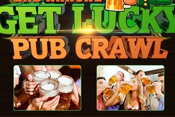 Get Lucky Pub Crawl - Food & Drink Event | Beer Festival | Holiday Event in Boston.