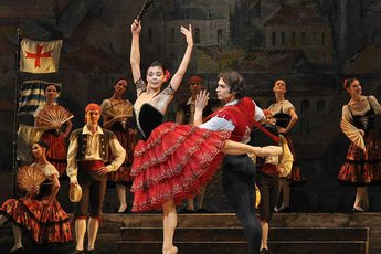 Don Quixote - Ballet in Boston.
