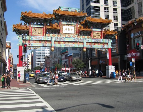 Chinatown, Washington, DC.