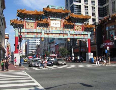 Chinatown, Washington, DC.