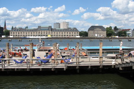 Badeschiff - Beach | Beach Bar | Outdoor Activity in Berlin.