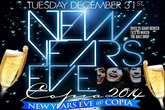 New Year's Eve 2014 at Copia - Party | Holiday Event in New York.