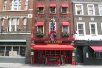 The Globe - Pub in London.