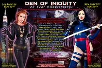 Night of 1,000 Dominatrixes! The 20th Anniversary of the Den of Iniquity NYC - Party in New York.
