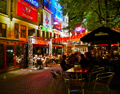 Leidseplein, Amsterdam.