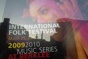 Berklee International Folk Music Festival - Music Festival in Boston.